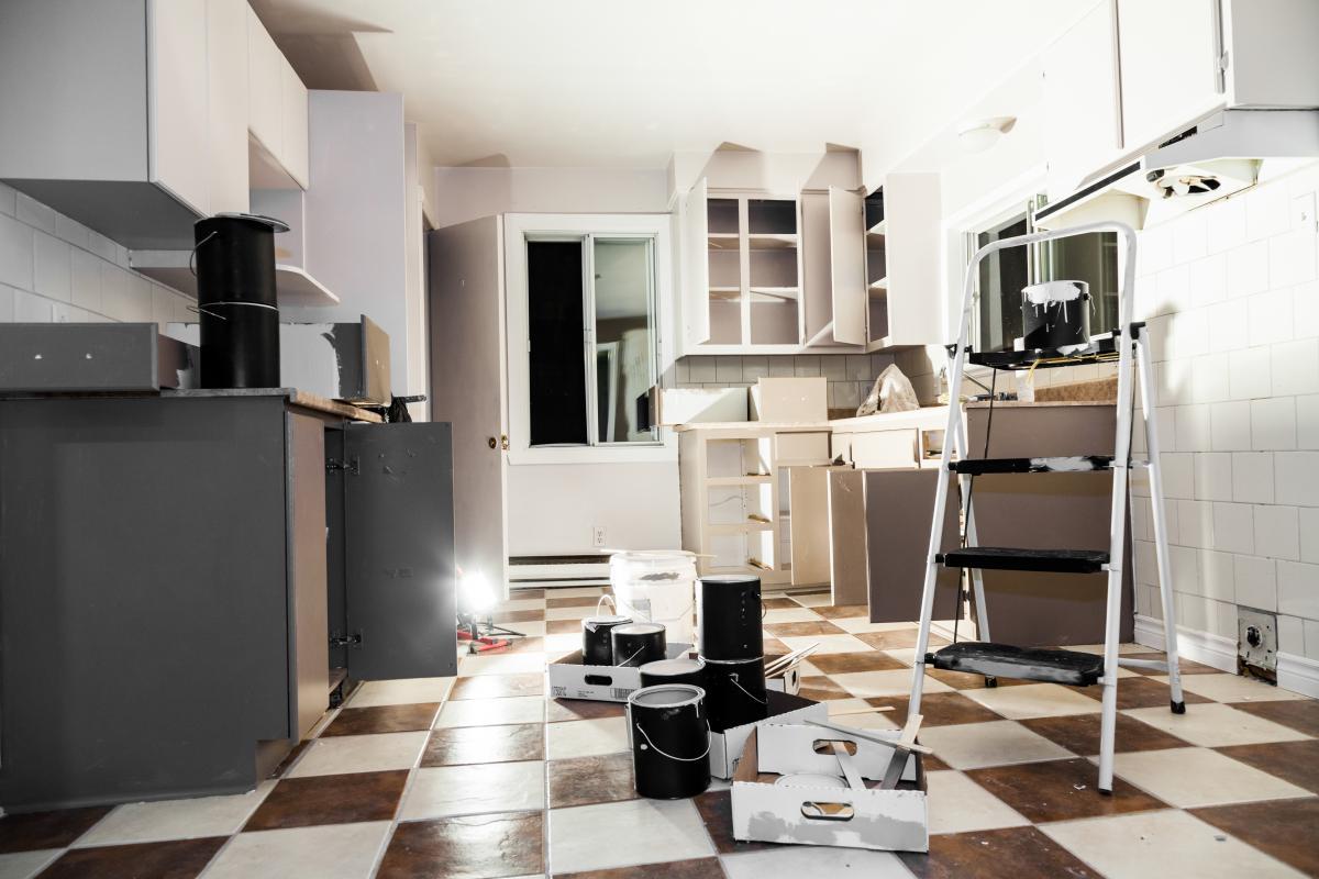 Renovarea unei bucătării